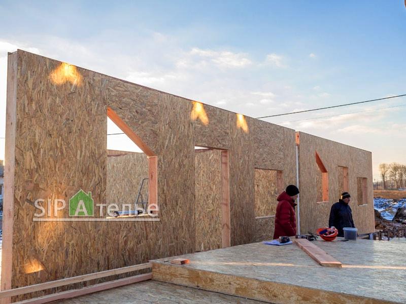 Монтаж таунхауса готовыми стенами «Крымский квартал» - фото 3