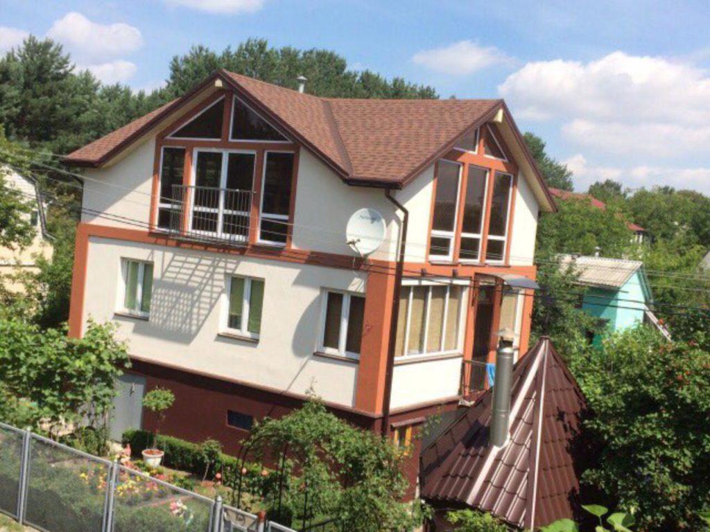 Надстройка из сип панелей к существующему дому с. Золотоноша - фото 1