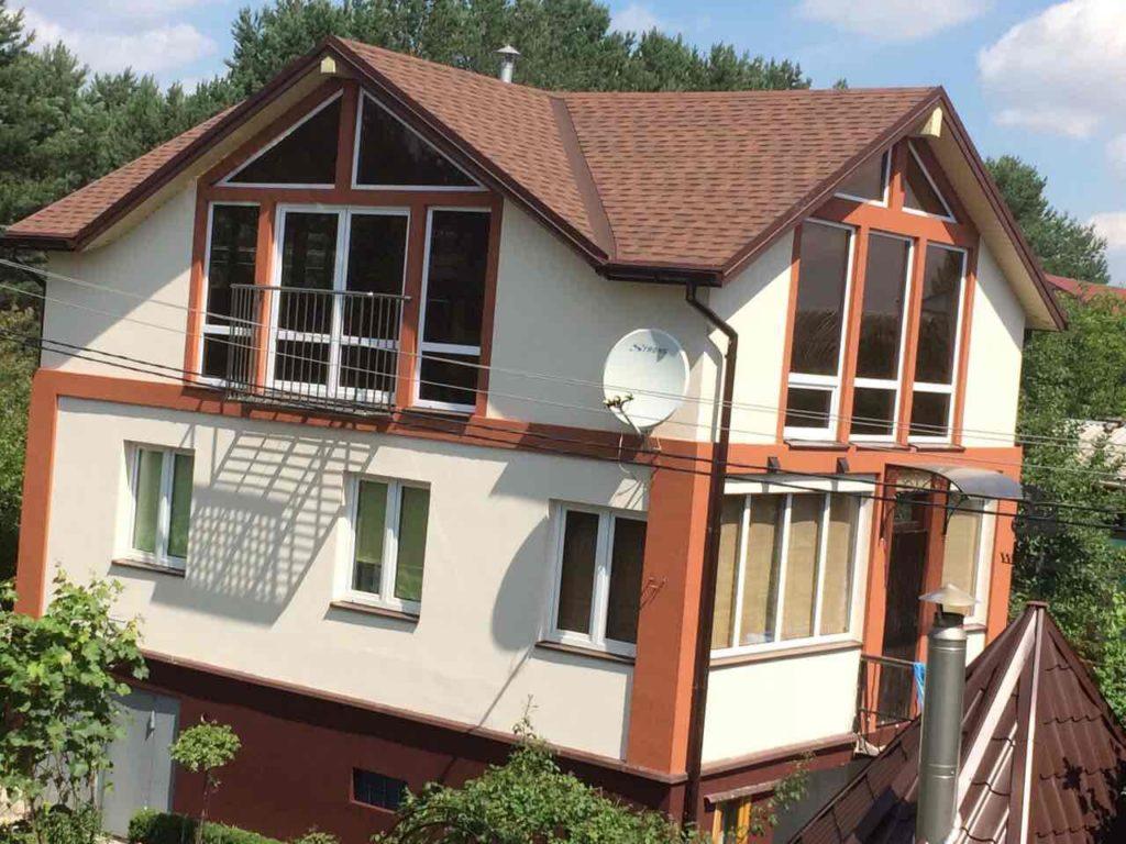 Надстройка из сип панелей к существующему дому с. Золотоноша - фото 12
