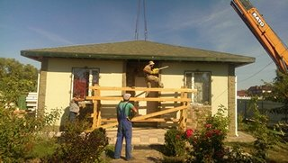 Надстройка на дом из сип панелей в селе Петровское - фото 12