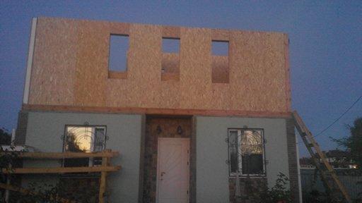 Надстройка на дом из сип панелей в селе Петровское - фото 20