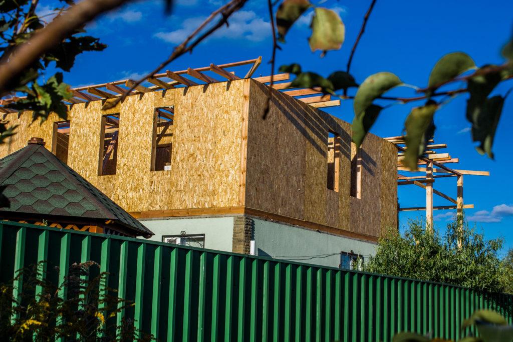 Надстройка на дом из сип панелей в селе Петровское - фото 21