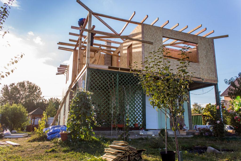 Надстройка на дом из сип панелей в селе Петровское - фото 22