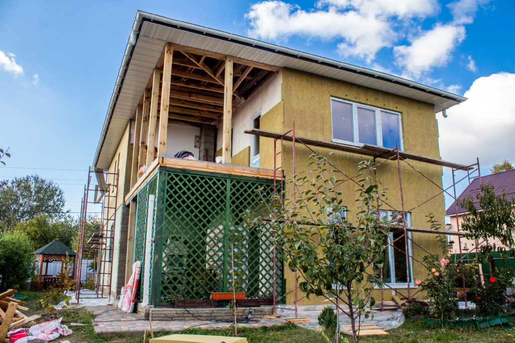 Надстройка на дом из сип панелей в селе Петровское - фото 24