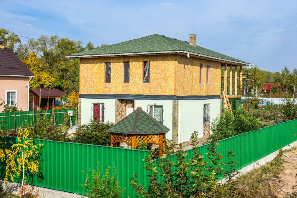 Надстройка на дом из сип панелей в селе Петровское - фото 25