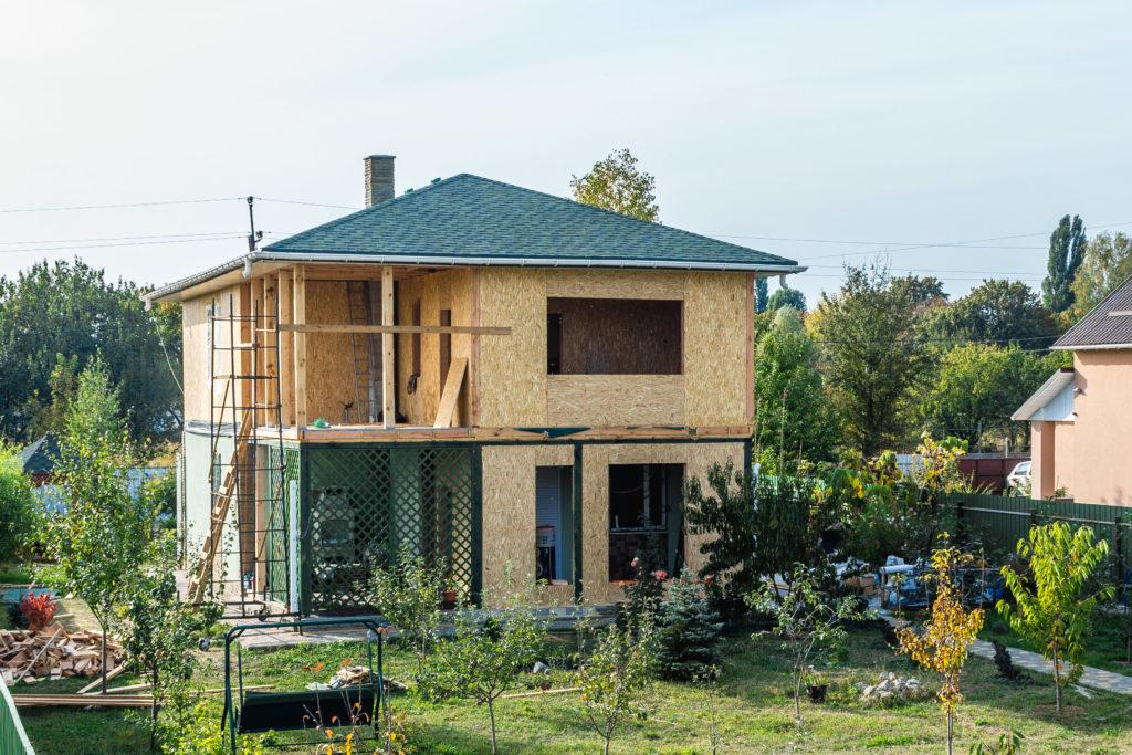 Надстройка на дом из сип панелей в селе Петровское - фото 26