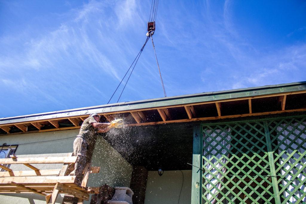 Надстройка на дом из сип панелей в селе Петровское - фото 10