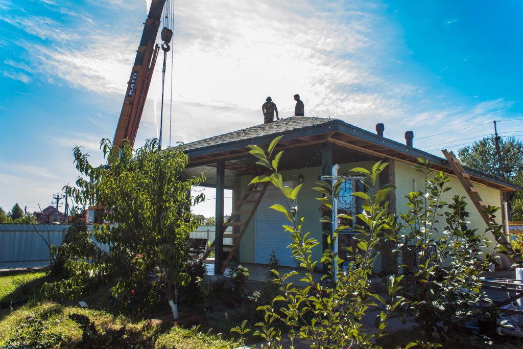 Надстройка на дом из сип панелей в селе Петровское - фото 11