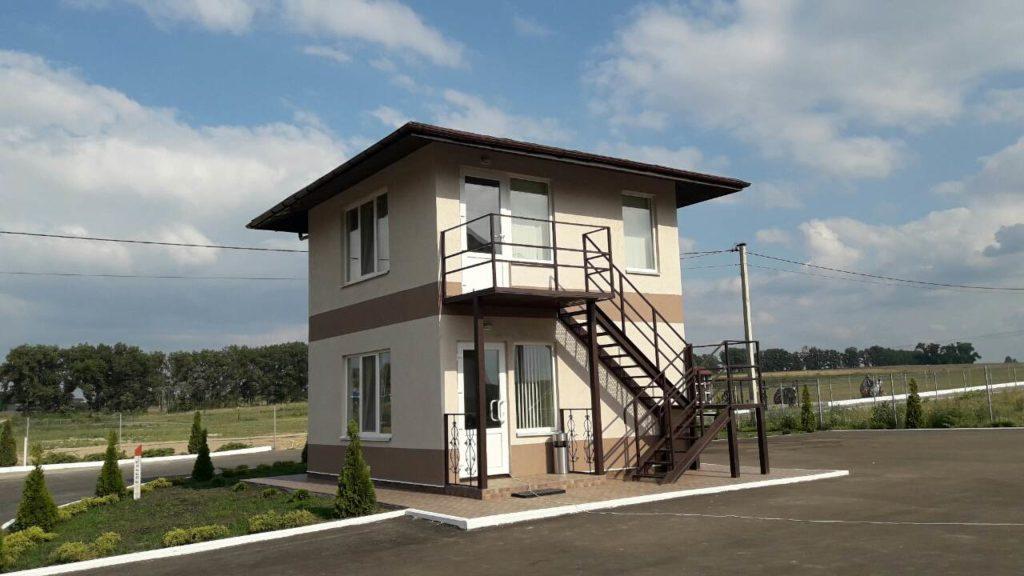 Новый пост охраны в Белогородке площадью 50 м2 - фото 4