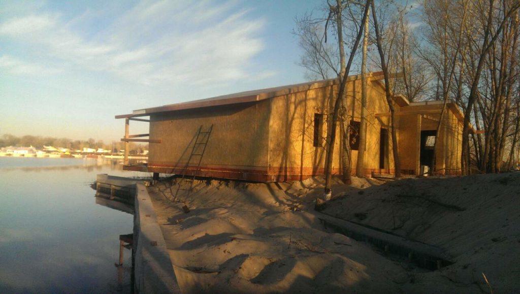Строительство бани из сип панелей площадью 140 м2 - фото 4
