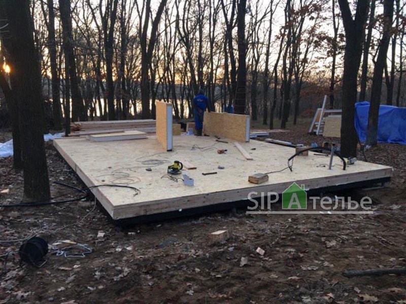 Строительство базы отдыха на берегу реки - фото 2