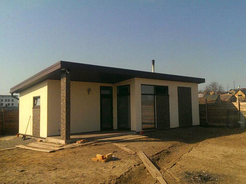 Строительство дома из сип панелей в поселке Малая Александровка - фото 3