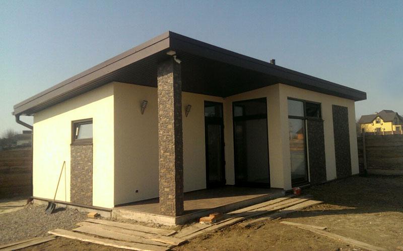 Строительство дома из сип панелей в поселке Малая Александровка - фото 1