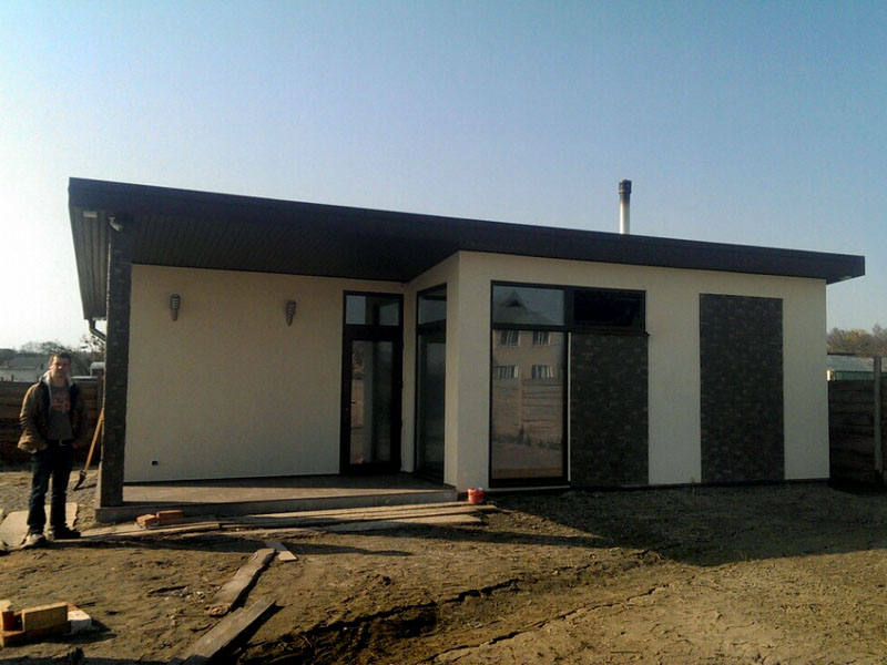 Строительство дома из сип панелей в поселке Малая Александровка - фото 5