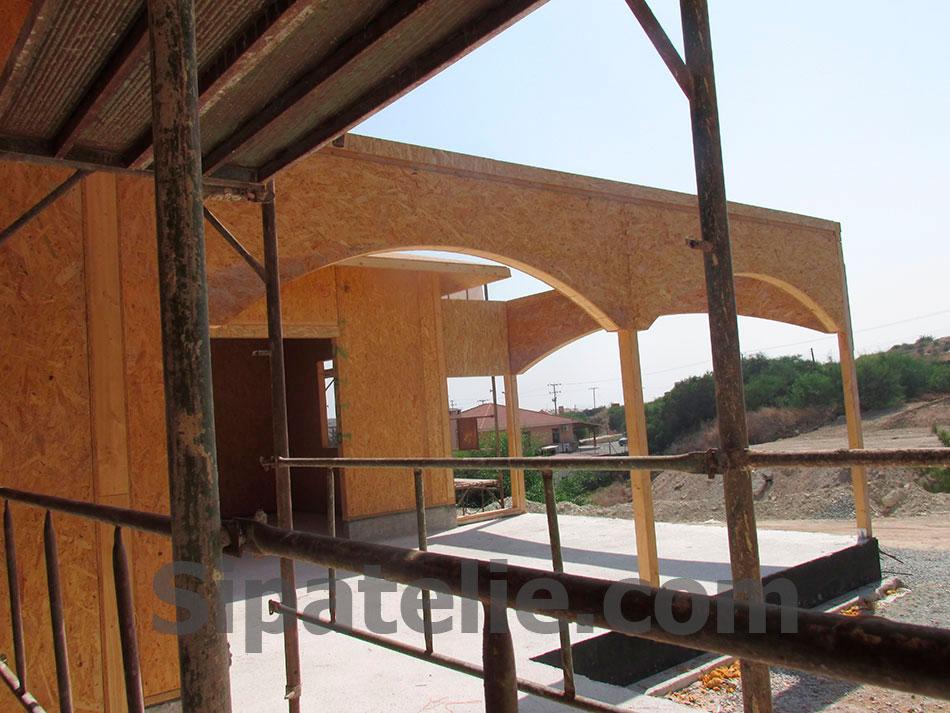 Строительство дома из сип панелей на Кипре - фото 8