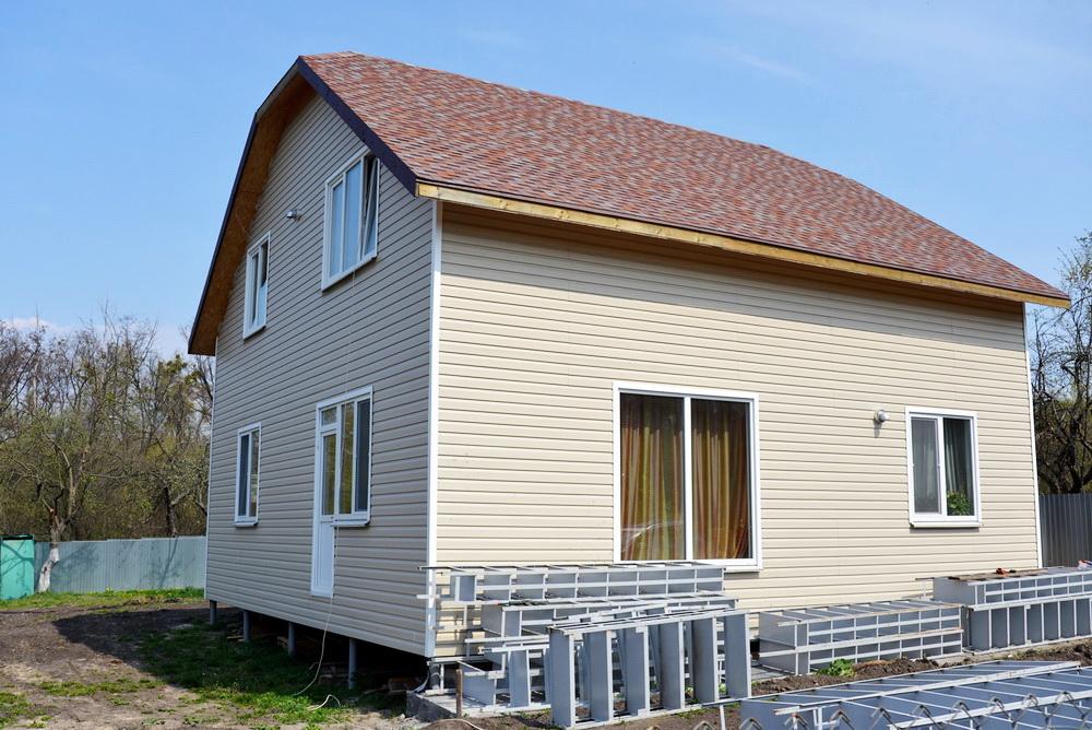 Строительство дома из сип панелей в г. Васильков - фото 1
