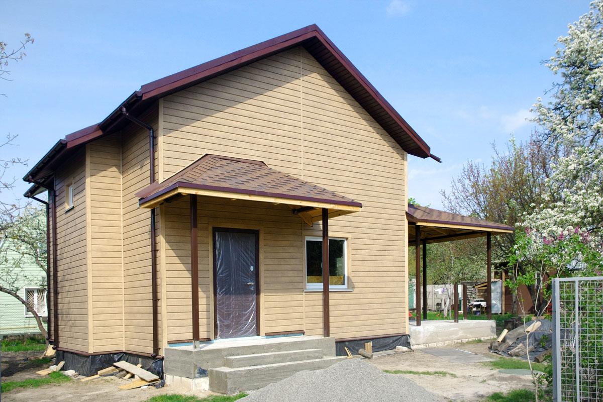 Строительство теплого дачного дома из СИП панелей - фото 3