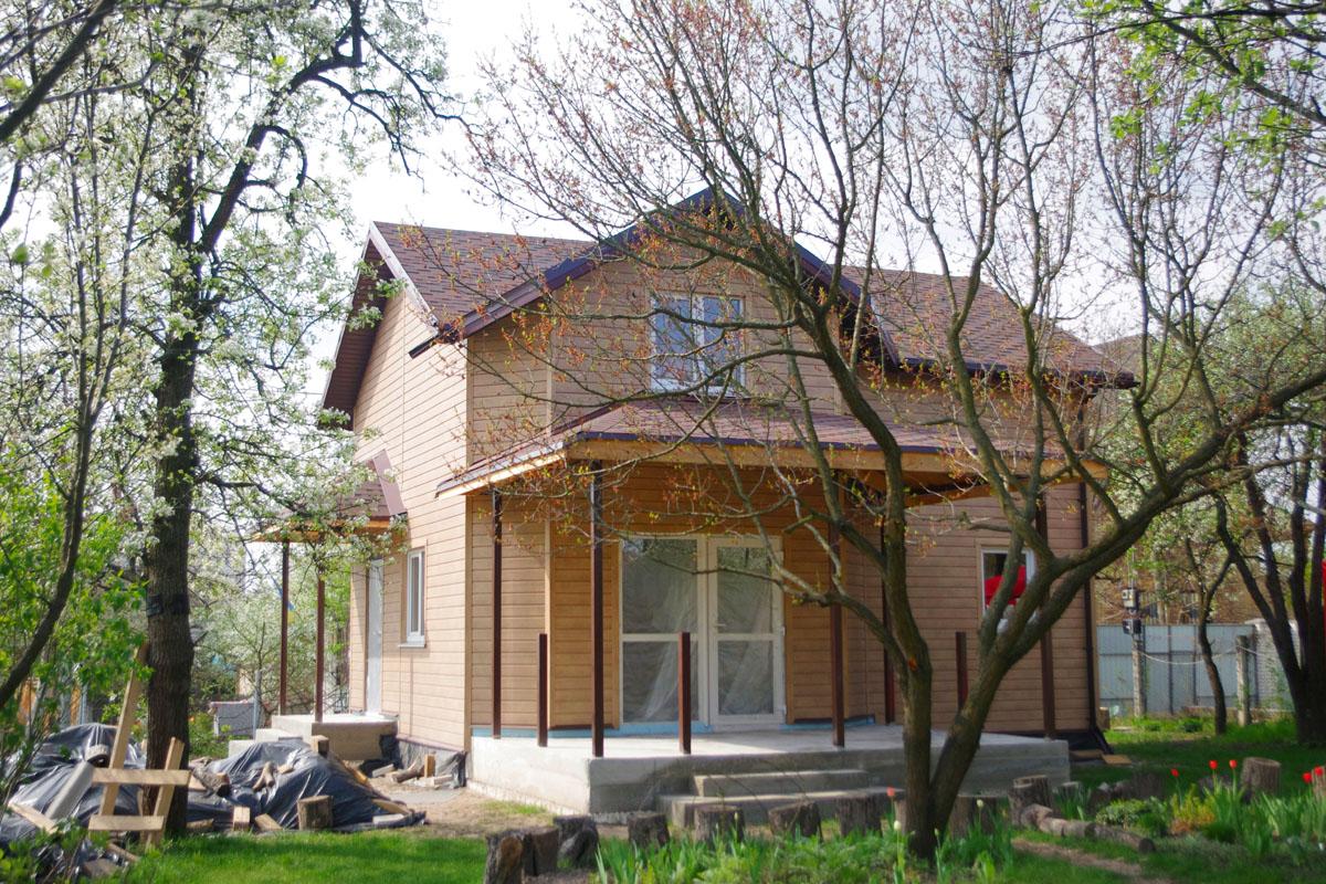 Строительство теплого дачного дома из СИП панелей - фото 1