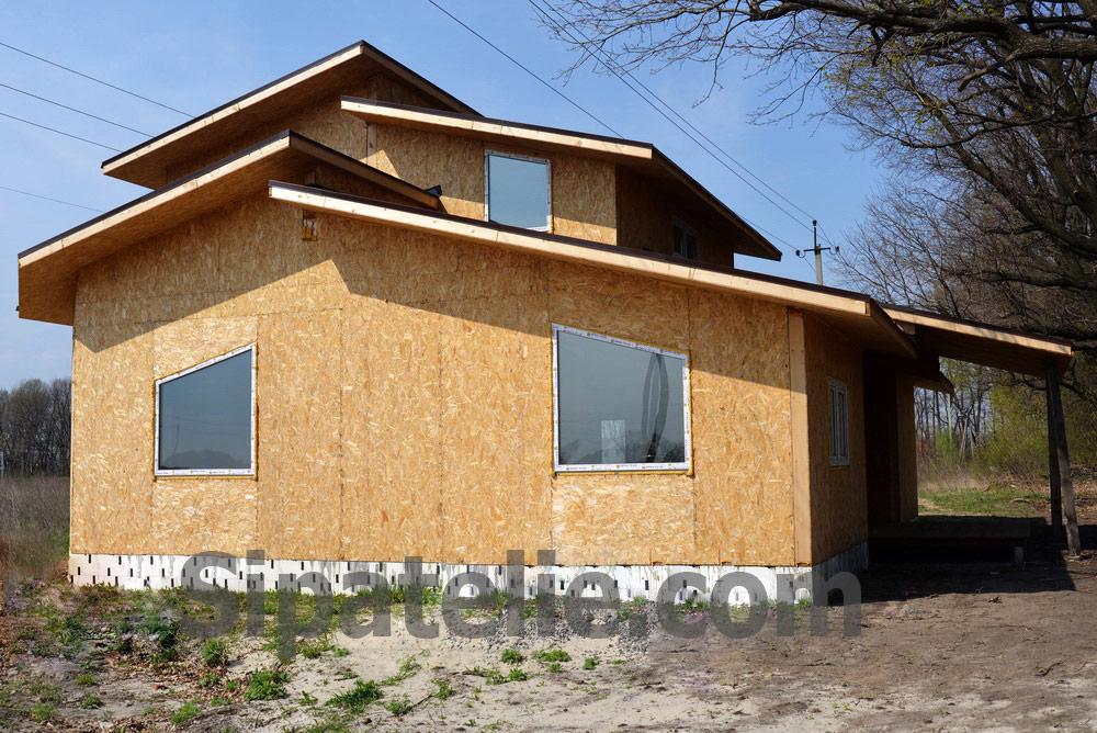 Строительство дома по канадской технологии в поселке Гатное - фото 1