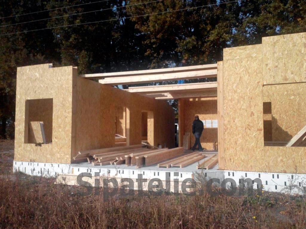 Строительство дома по канадской технологии в поселке Гатное - фото 3