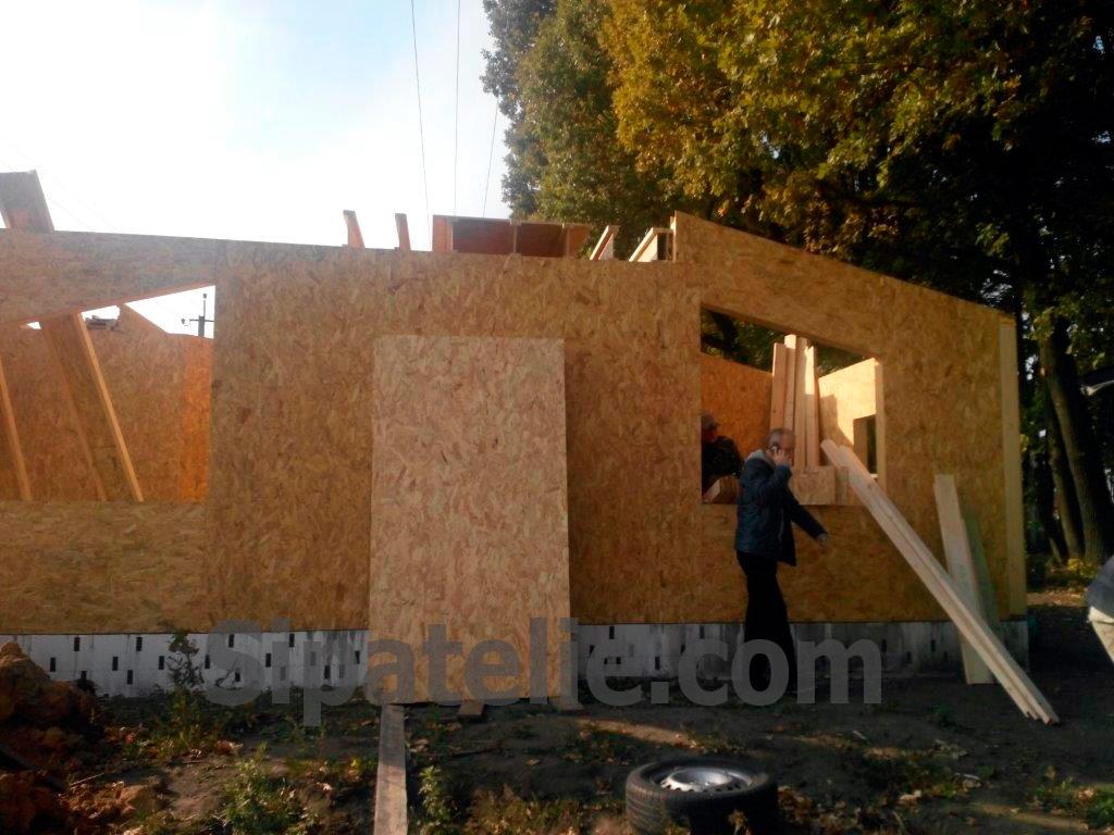 Строительство дома по канадской технологии в поселке Гатное - фото 4