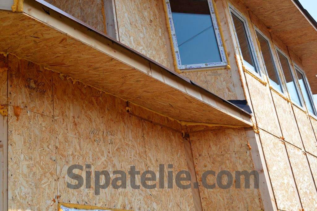 Строительство дома по канадской технологии в поселке Гатное - фото 9