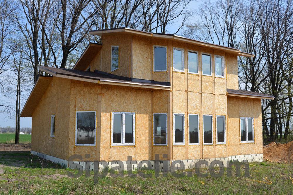 Строительство дома по канадской технологии в поселке Гатное - фото 10