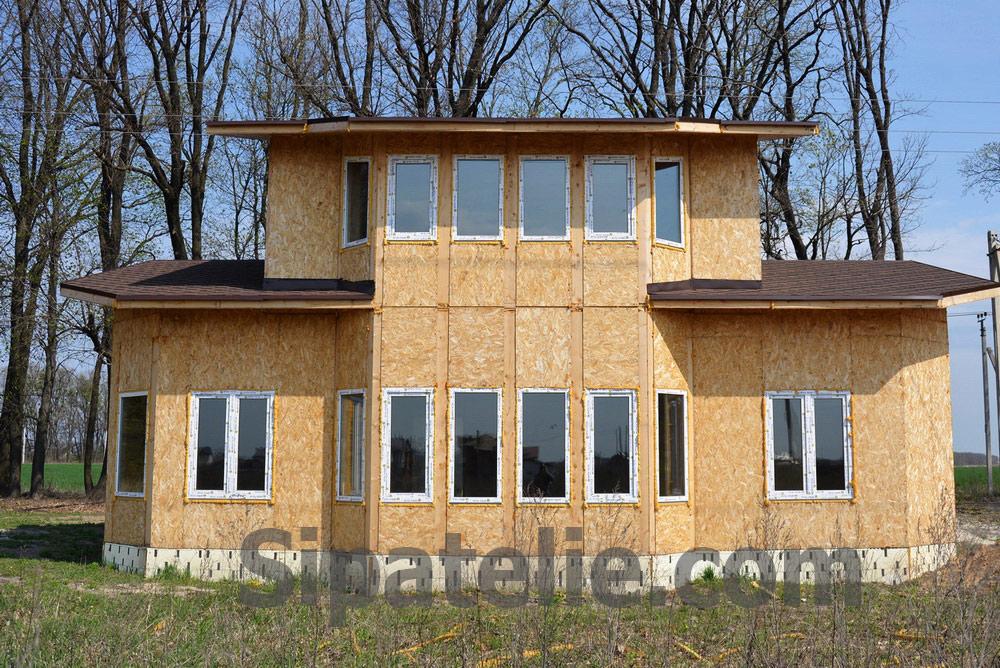 Строительство дома по канадской технологии в поселке Гатное - фото 11