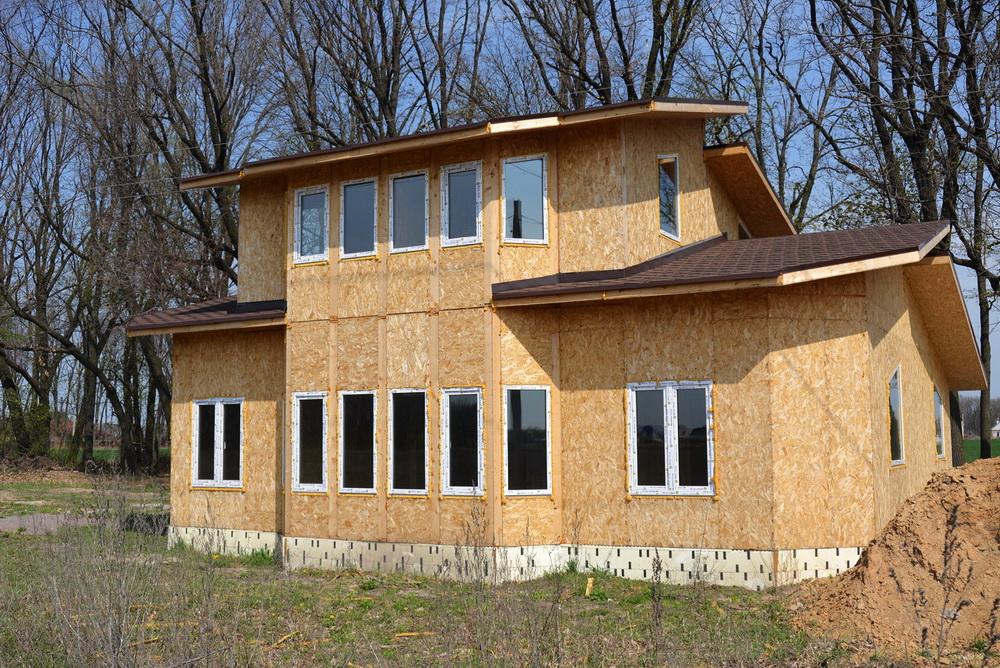 Строительство дома по канадской технологии в поселке Гатное - фото 12