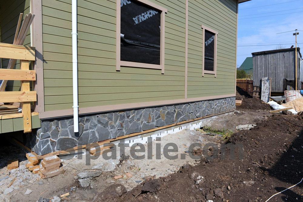 Постройка дома из сип панелей в поселке Гатне - фото 7