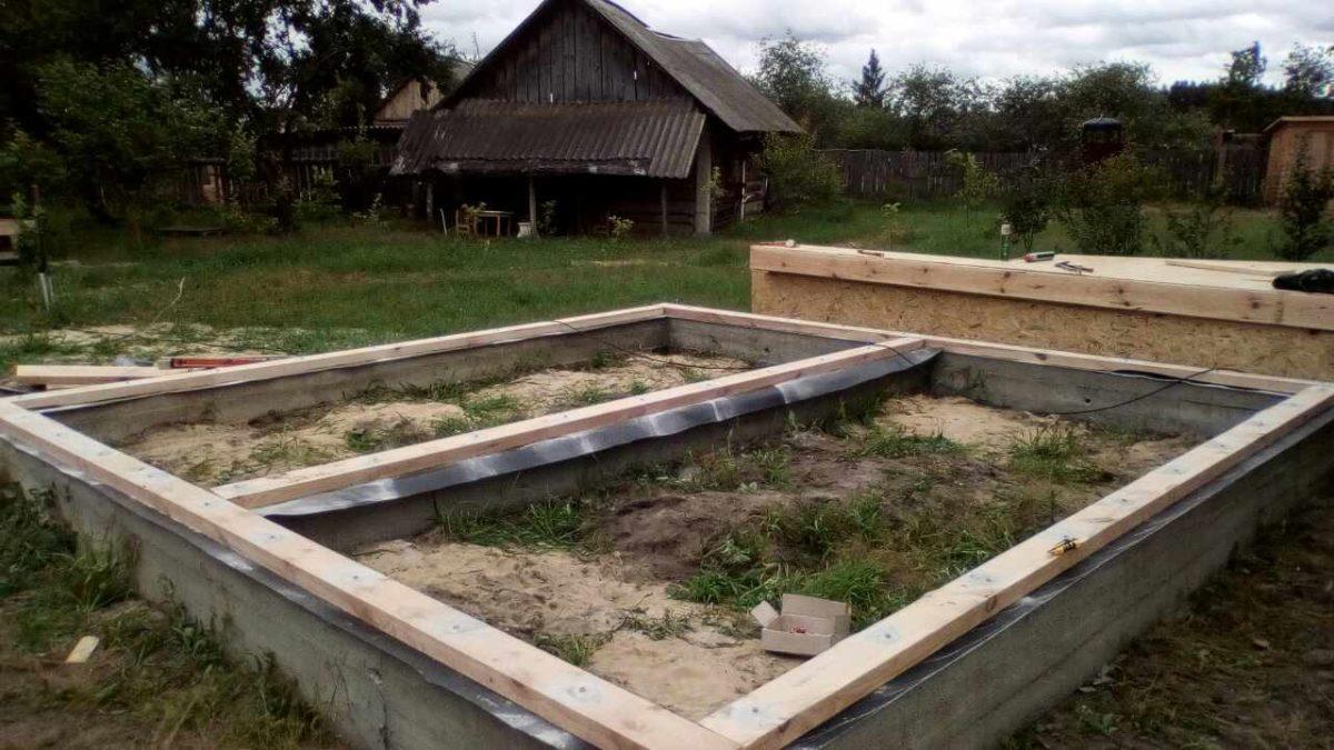Строительство энергосберегающего дома из СИП панелей в с. Блидча - фото 1