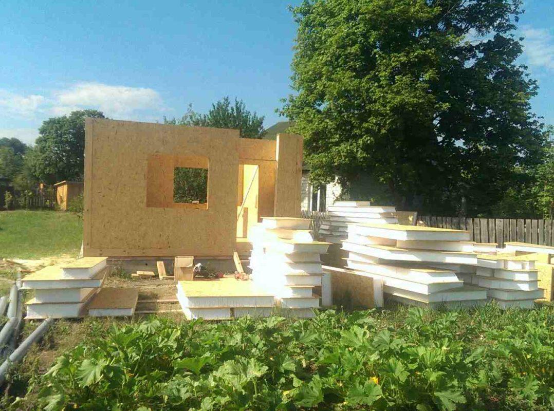 Строительство энергосберегающего дома из СИП панелей в с. Блидча - фото 2