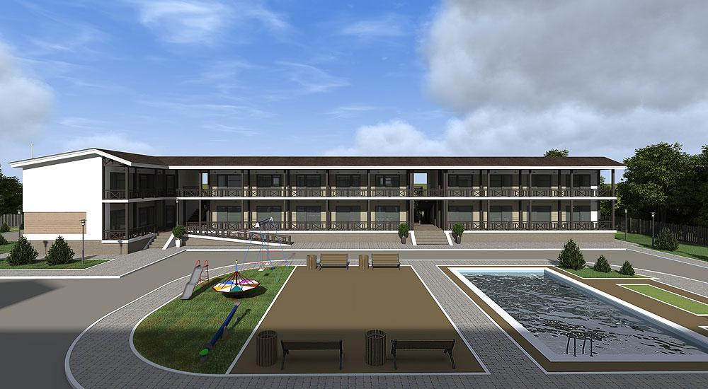 Строительство гостиницы из сип панелей в Одесской области - фото 3