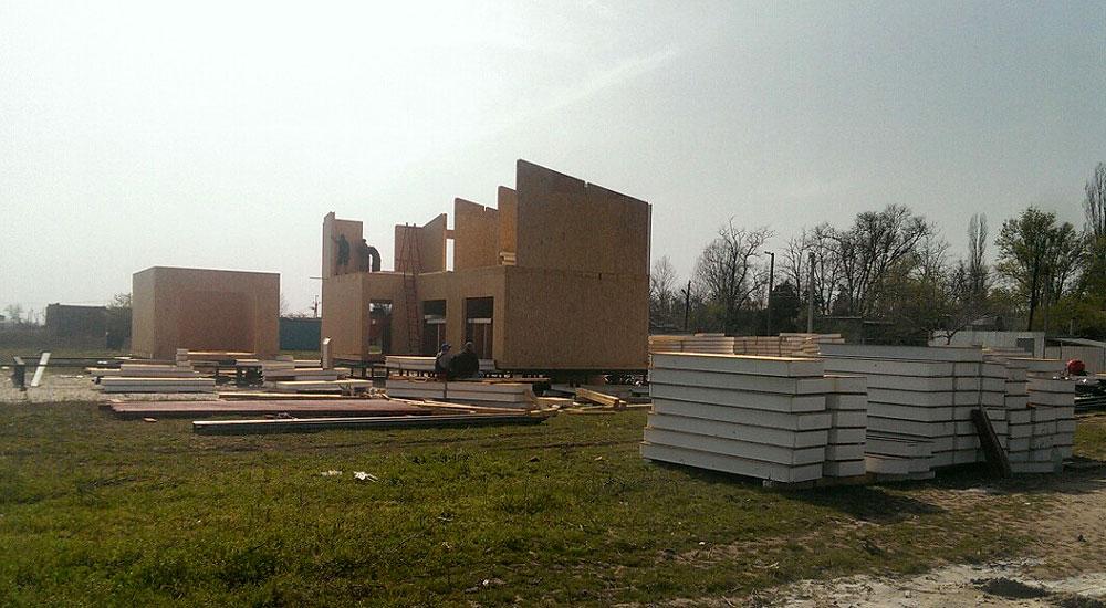 Строительство гостиницы из сип панелей в Одесской области - фото 9