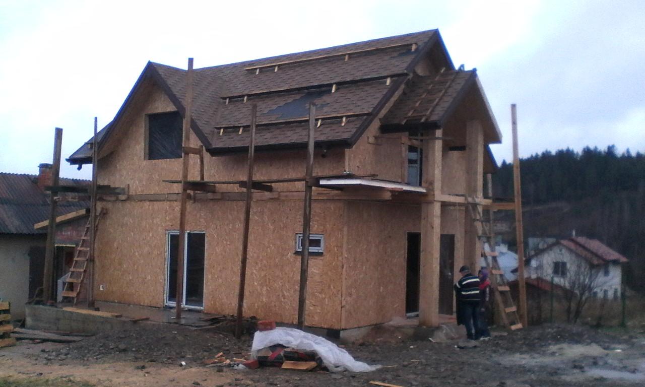 Строительство каркасного дома из СИП/SIP панелей в селе Сходница - фото 7
