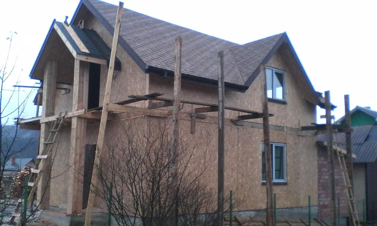 Строительство каркасного дома из СИП/SIP панелей в селе Сходница - фото 2