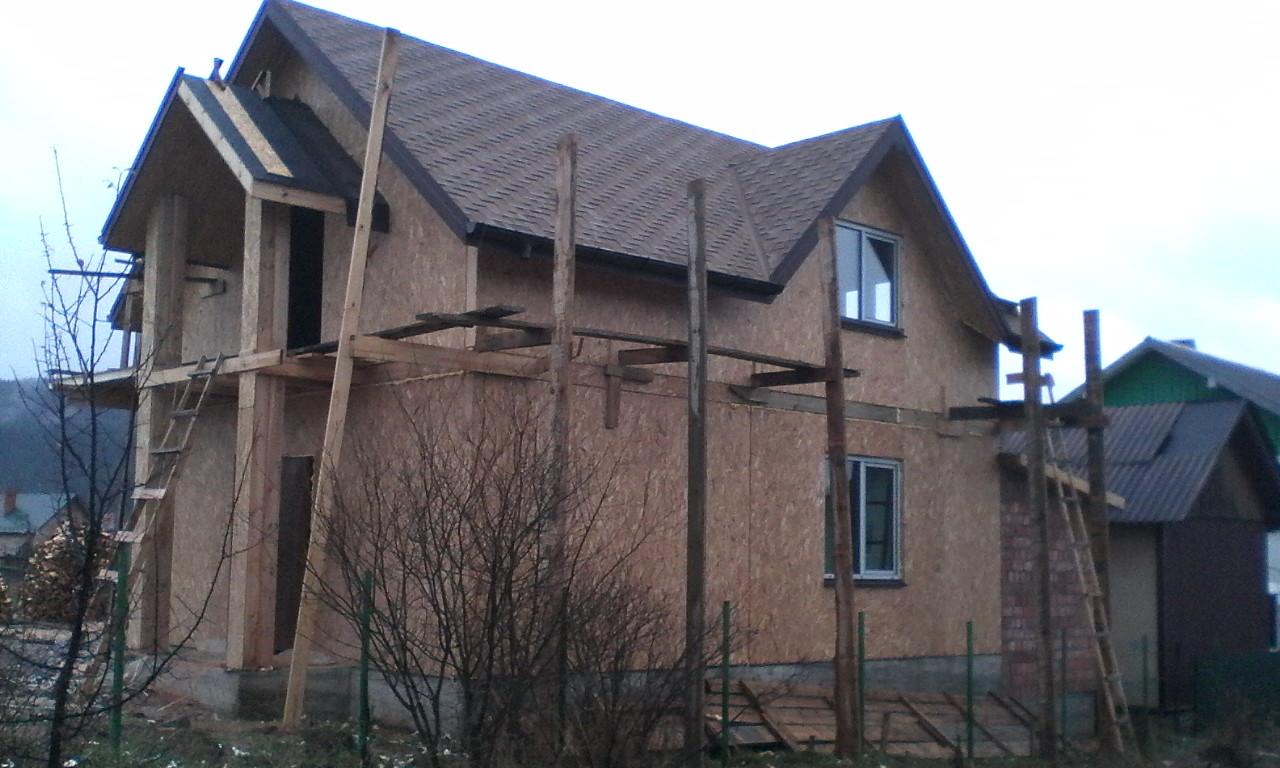 Строительство каркасного дома из СИП/SIP панелей в селе Сходница - фото 3