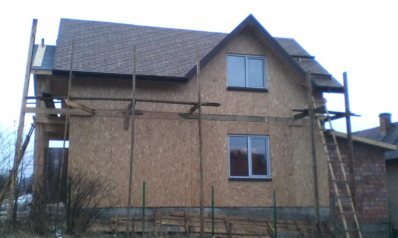 Строительство каркасного дома из СИП/SIP панелей в селе Сходница - фото 4