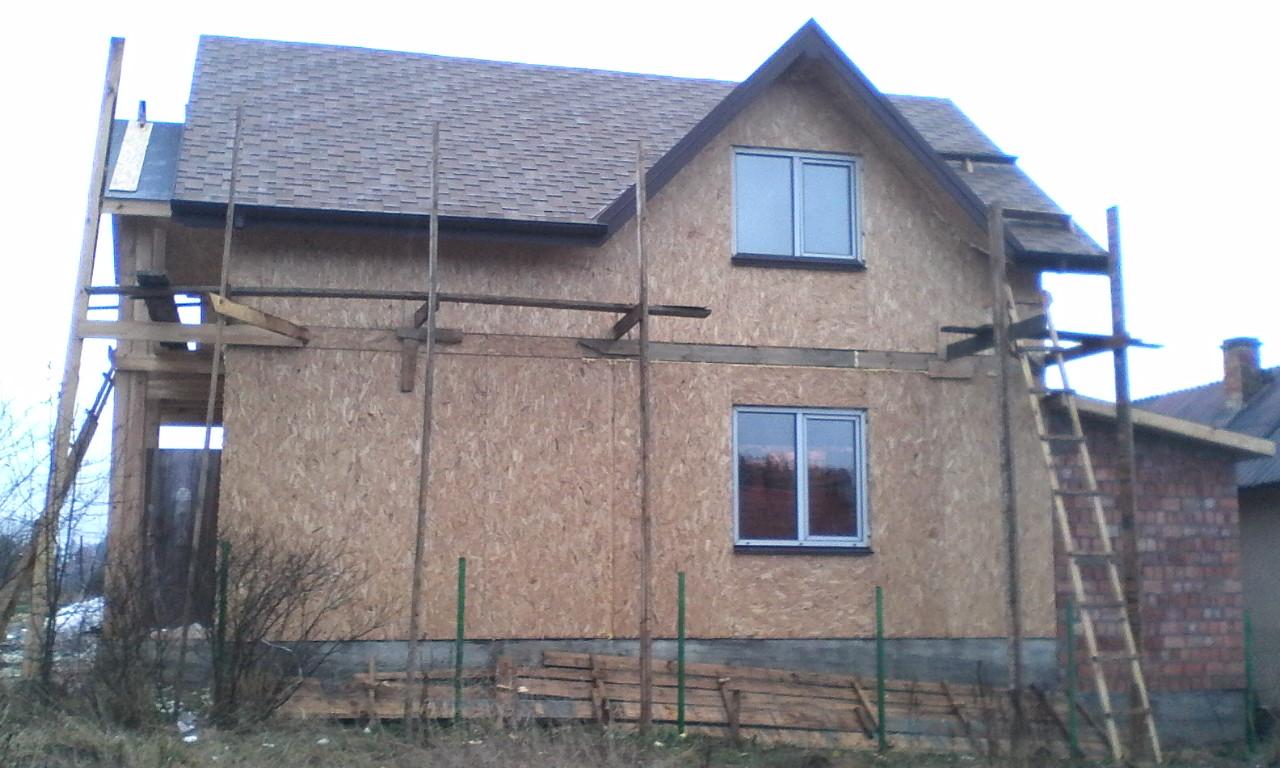 Строительство каркасного дома из СИП/SIP панелей в селе Сходница - фото 5