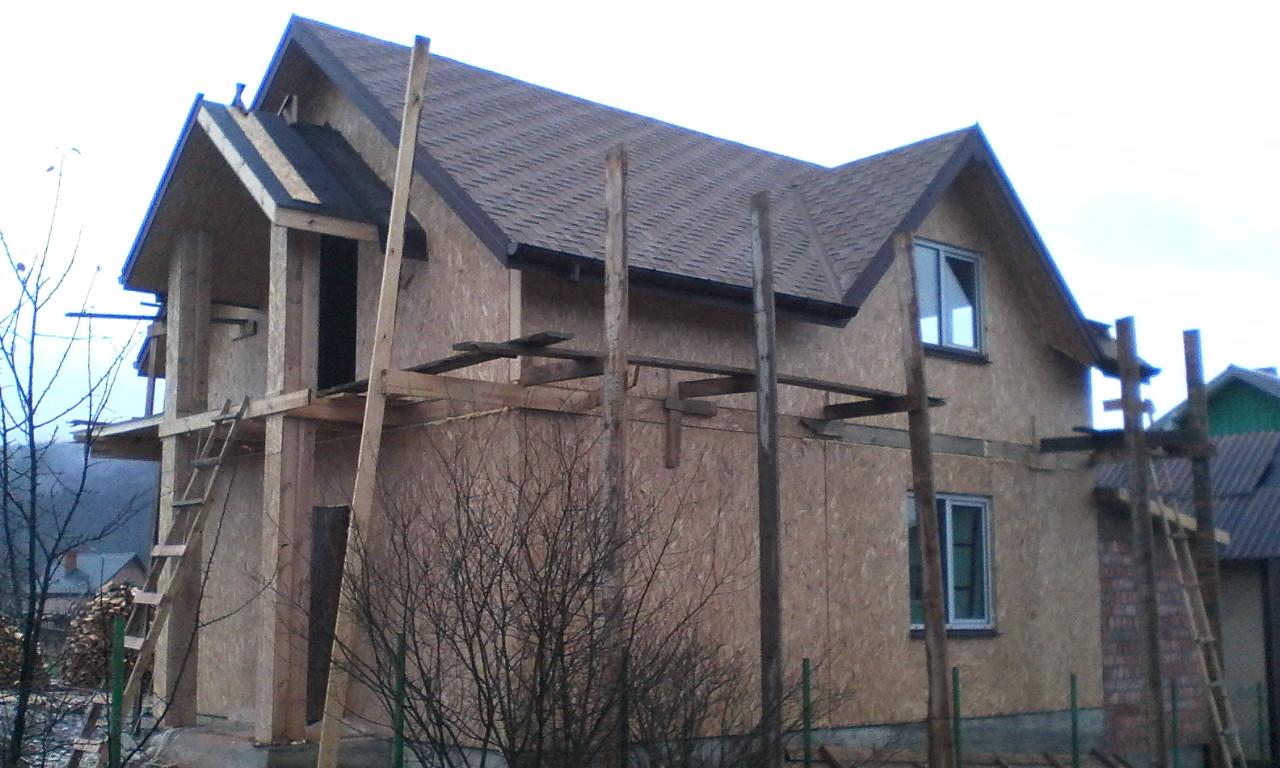 Строительство каркасного дома из СИП/SIP панелей в селе Сходница - фото 6