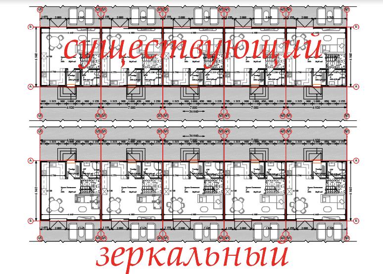 План схема коттеджного городка из сип-панелей «Крымский квартал» - фото 2
