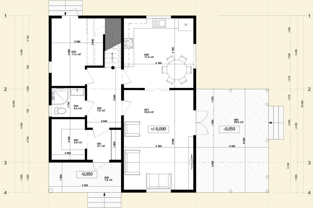 Строительство просторного и уютного дома из SIP панелей - фото 4