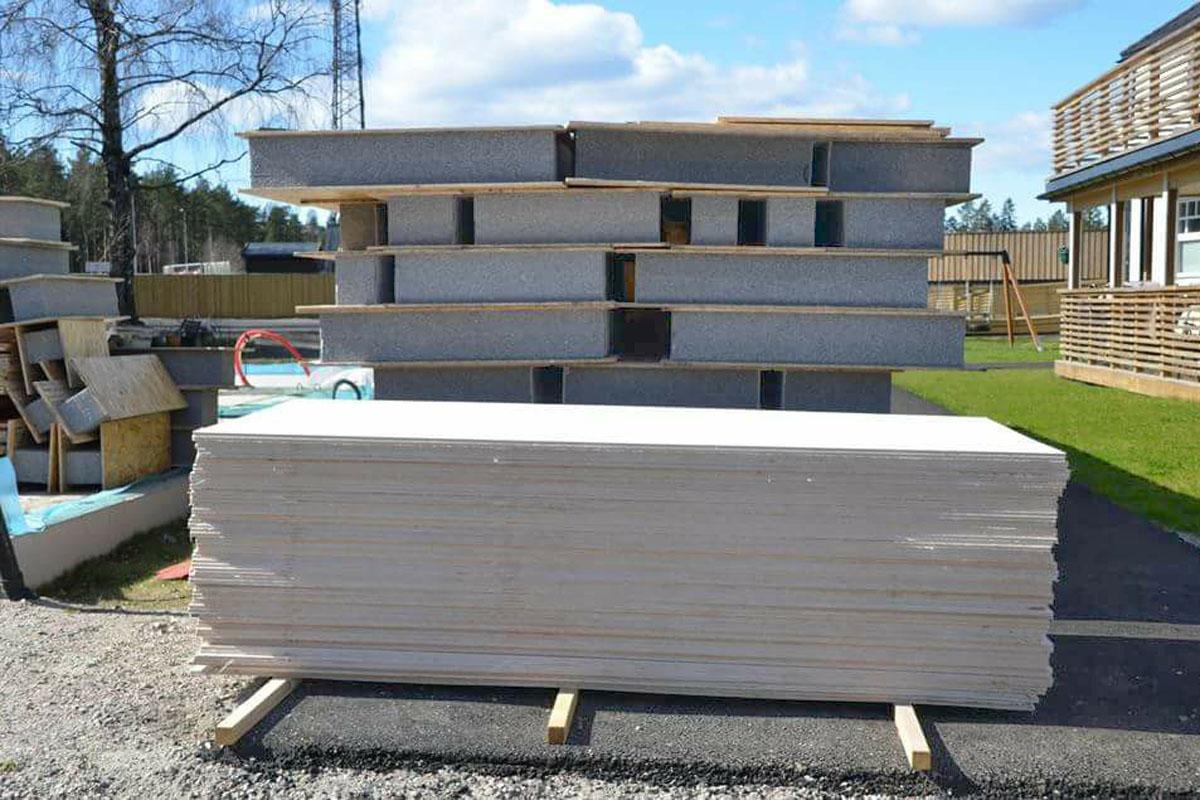 Строительство жилого дома из сип-панелей в г. Осло, Норвегия - фото 5