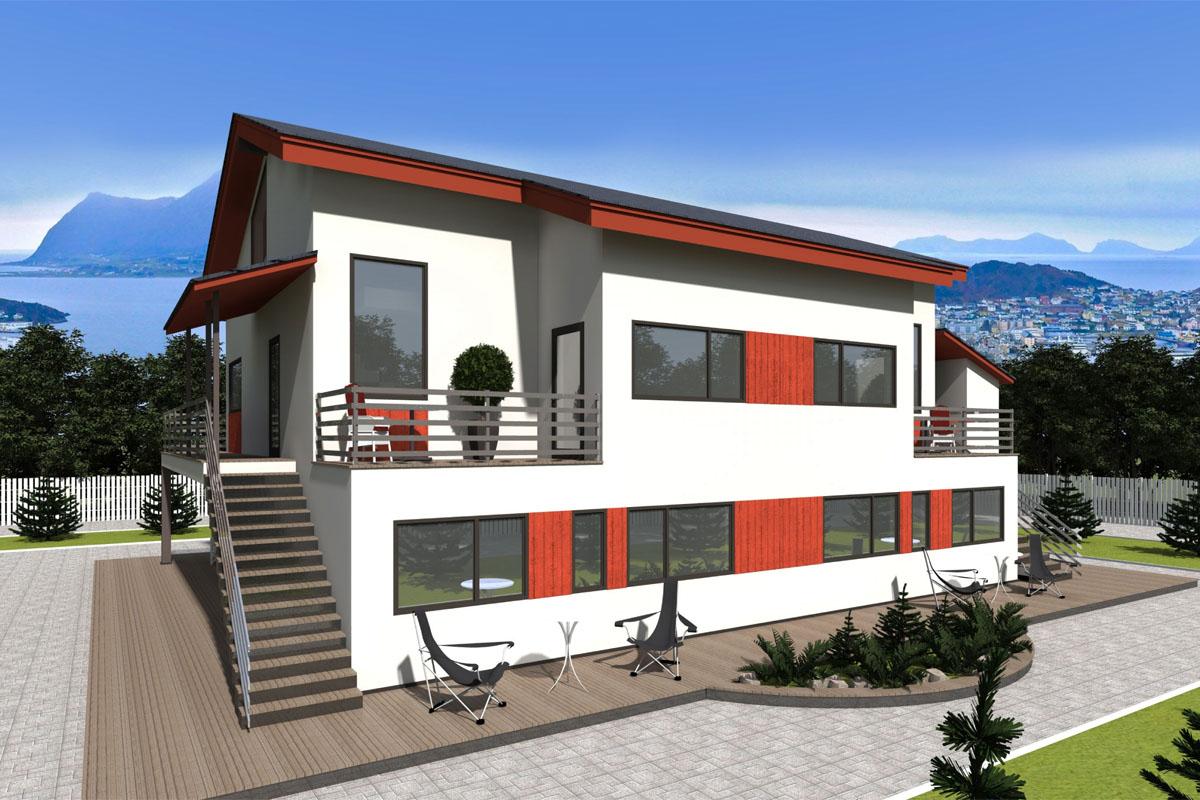 Строительство жилого дома из сип-панелей в г. Осло, Норвегия - фото 4