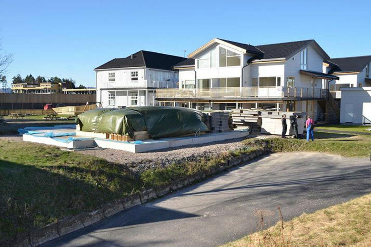 Строительство жилого дома из сип-панелей в г. Осло, Норвегия - фото 7