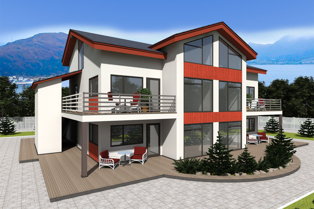 Строительство жилого дома из сип-панелей в г. Осло, Норвегия - фото 2