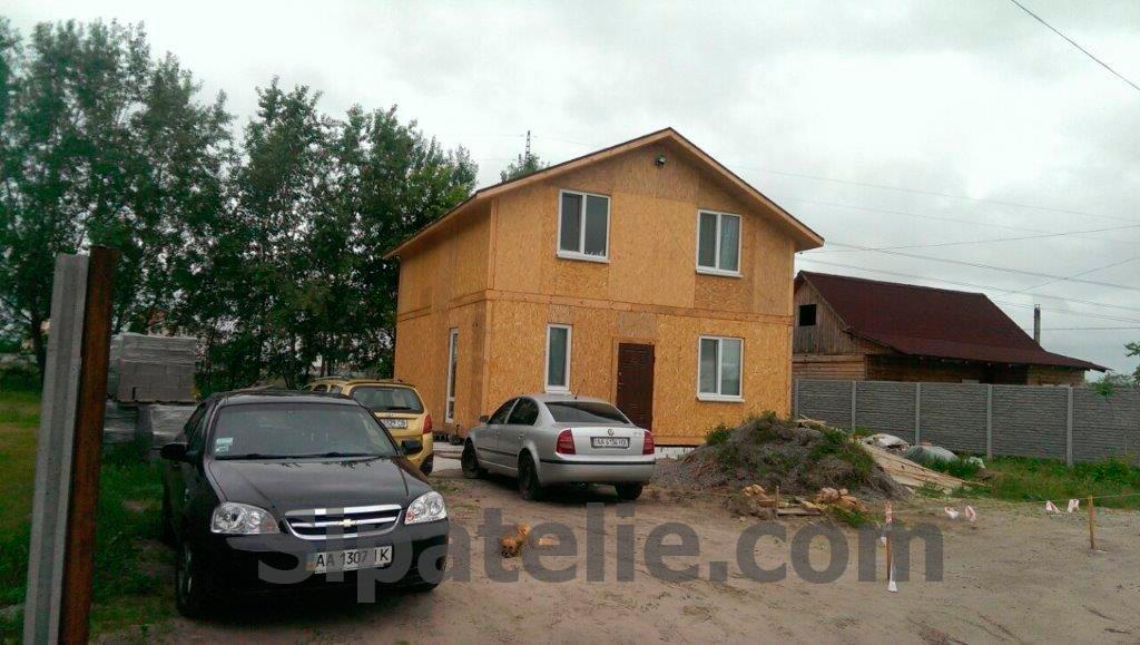 Строительство дома по канадской технологии в Бортничах - фото 4