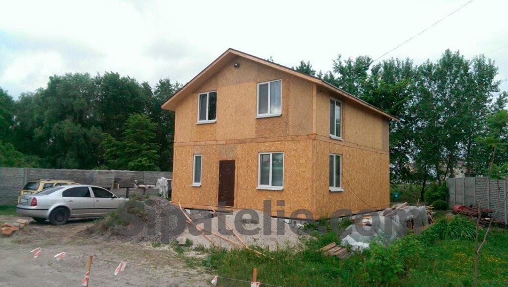 Строительство дома по канадской технологии в Бортничах - фото 2