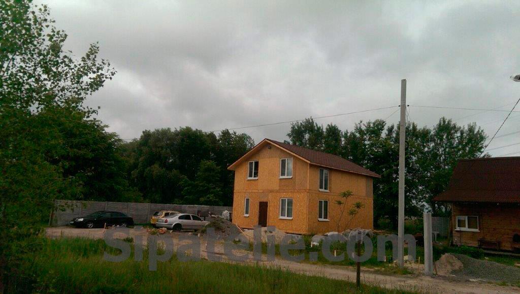 Строительство дома по канадской технологии в Бортничах - фото 3