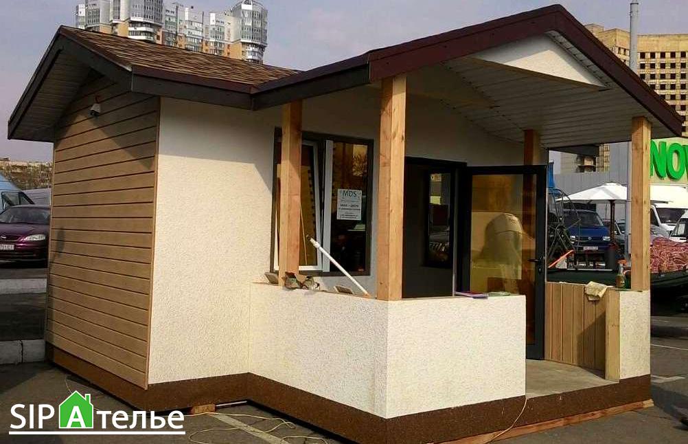 Выставочный дом из сип панелей